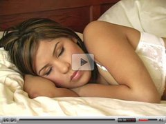 Celina,hot chick wakes up!!