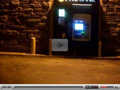 using the atm after the club