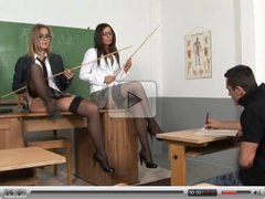 Two Sexy Teachers...... One Creamed Ass!!!!!!