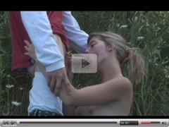 teen couple outdoor