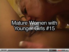 Lesbian mature women with younger girls
