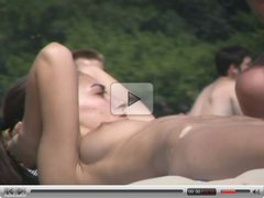 Nudist Beach hottie from ukraine -- Black sea topless