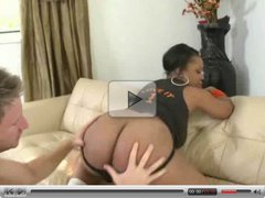 Aryana Adin presents her big black ass