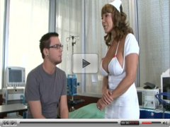 Nurse Ava Devine fucked in hospital