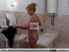 Mature Hairy Pussy - fuck in the bathroom