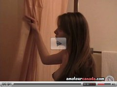 Tasha geek pregnant in shower to clean amateur canada exgf