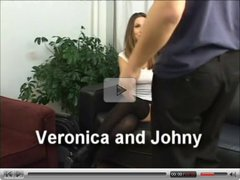 Veronica swallow cum scene
