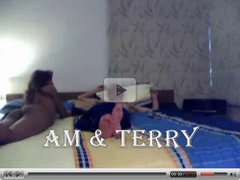Am and Terry hot passionate sex