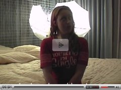 Hot Red Head in Hotel After Bars Part 1