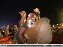Topless Bull Riding Spring Break