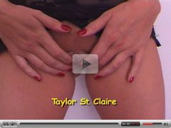 hot Taylor St Claire pov style blowjob