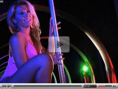 Anna Kalina in lap dance queen