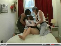 English Slut Threesome Anal