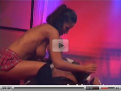 hot sex on porn stage