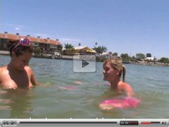 College Girls Naked Boating and Beach Part 2