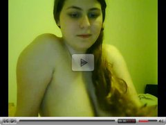 Horny Fat Chubby Teen Ex Gf fucking her Bf on Cam