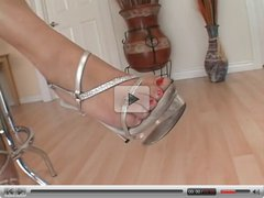 Hogtied with zip ties and barefoot tickle