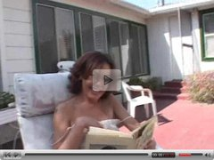 Hot MILF Nancy Vee outdoor POV