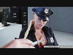 Brazzers - Lesbian cops go at it