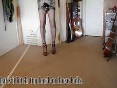 Balls tied to a Bedpost