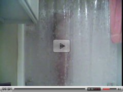 Hot young couple in the shower