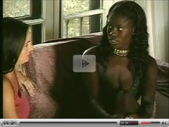 Interracial lesbian tongue fucking (from 7lives xposed)