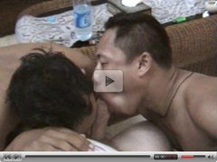 2 Indonesian guys suck dick until cum