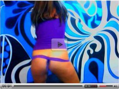 Mature colombian  lady on webcam