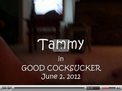 Tammy (me) the tranny in Good Cocksucker