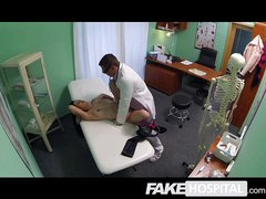 Fake Hospital - MILF wants breast impants
