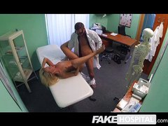 Fake Hospital - Beautiful squirting blonde