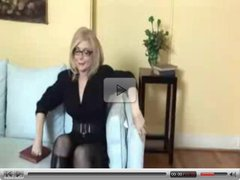 Nina Hartley Strapon Lessons.