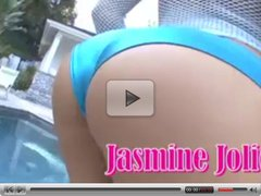 PAWG  Jasmine squirts for the 1st time...Look at that Ass!!!
