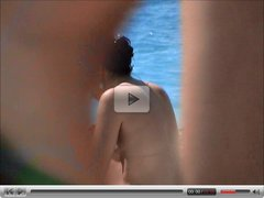 incredible french girl brunette perky tiny topless