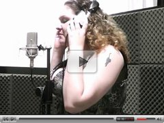 BBW singer takes it from behind