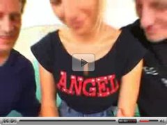 Teen Angel with a good DP