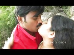 Hot telugu aunty romance beside rocks