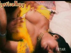 Telugu aunty boob shoew