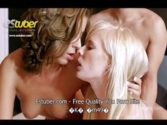 Estuber - Horny teens share one dick for two