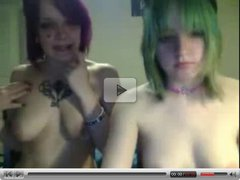 Two Naked Webcam Teens