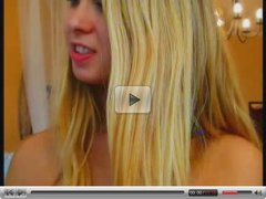 Beautiful Russian Blonde Play With Her Hot Body On Cam