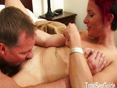 Redhead MILF Missy On Home Made Sex