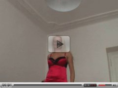 Strip and lapdance by amateur czech sexbomb Lucie