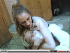 Facesitting and Smothering by Lesbian Lady