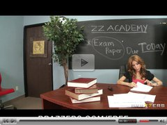 Brazzers - Sex hungry teacher Aleksa Nicole fucks a student