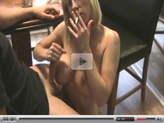 Keri Lynn Smoking Blowjob and Sex