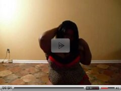 BBW Black fat ass Dance!