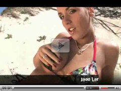 Very Cute Brunette Fucked On Beach by TROC