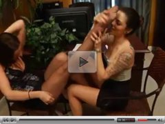 Lea & Kayla Foot Fetish 3