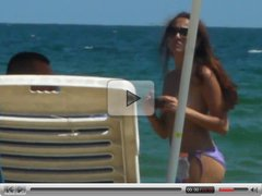 2012 burgas bulgaria TOPLESS BEACH girls